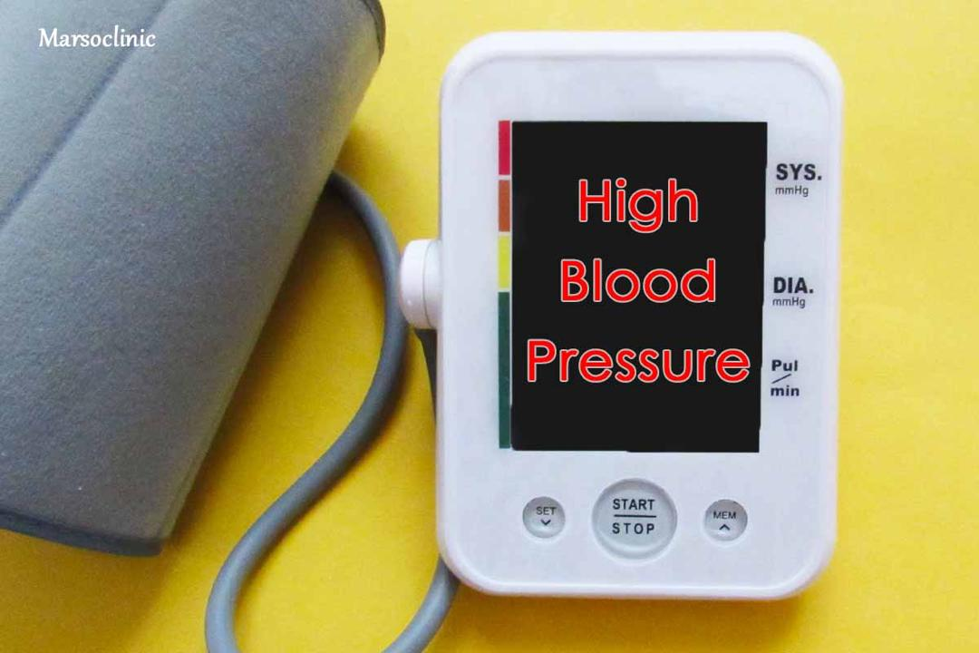 causes of high blood pressre
