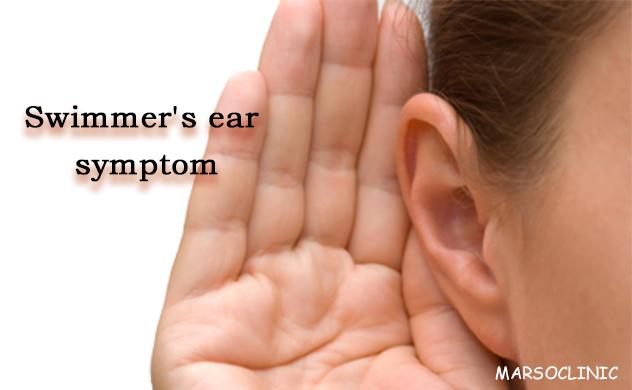Swimmer's ear symptom