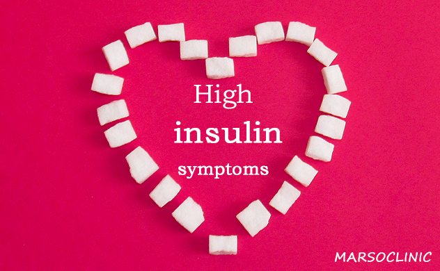 High insulin symptoms