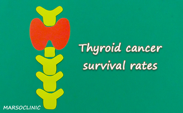 Thyroid cancer survival rates